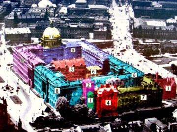 The Berlin Palace and its Reconstructions, 1450-2020